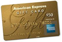 """$50 American Express Gift Card"""