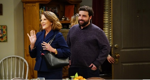 Linda Lavin, David Krumholtz, Mom, CBS