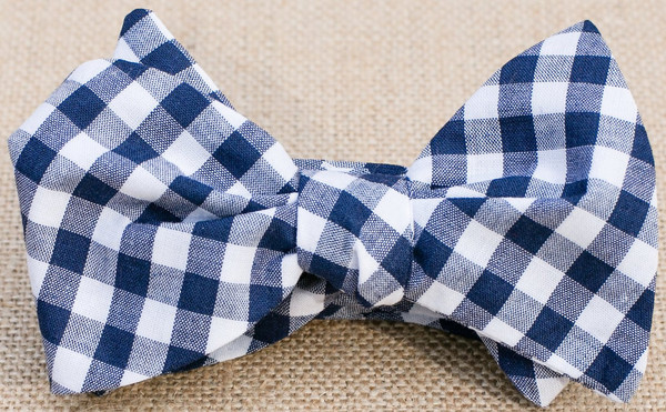 Mo's Bows Navy_Gingham_grande