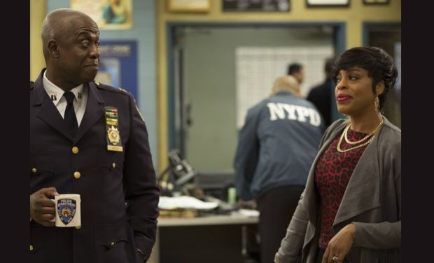 Niecy nash on Brooklyn Nine nine fox