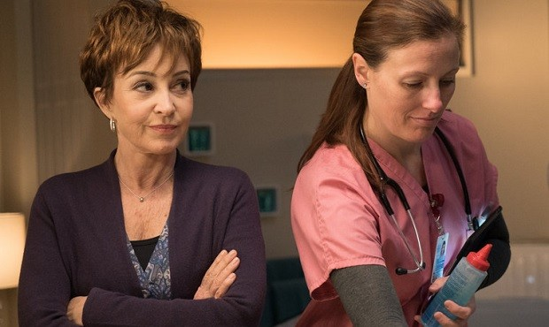 Annie Potts on Chicago Med, photo by: Elizabeth Sisson/NBC
