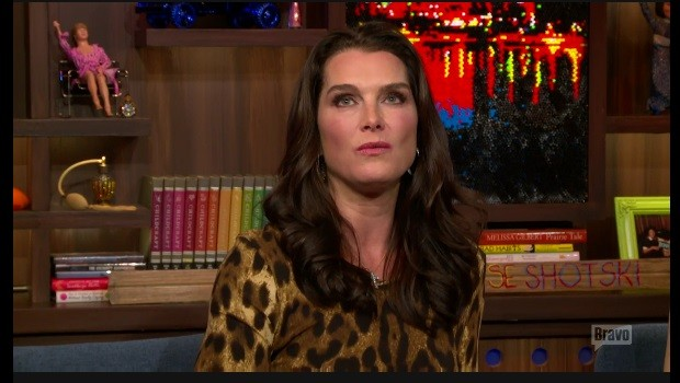 Brooke Shields on Bravo