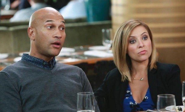 Keegan-Michael Key, Christine Lakin, Modern Family Couple