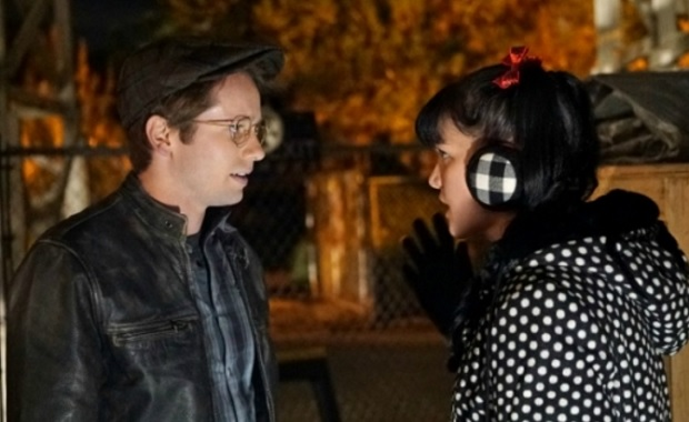 Tyler Ritter as Luca Sciuto and Pauley Perrette