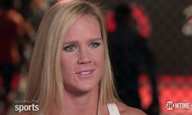 Holly Holm 60 Minutes Sports