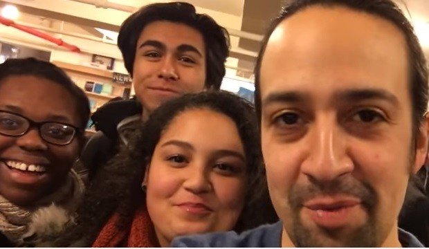 Lin-Manuel Miranda Saves a Drama Book Shop
