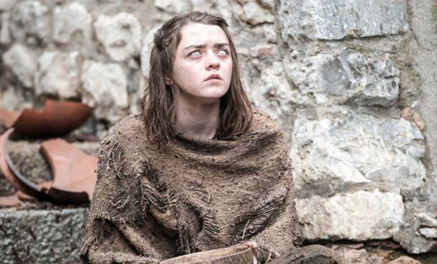 Maisie Williams Game of Thrones Facebook HBO