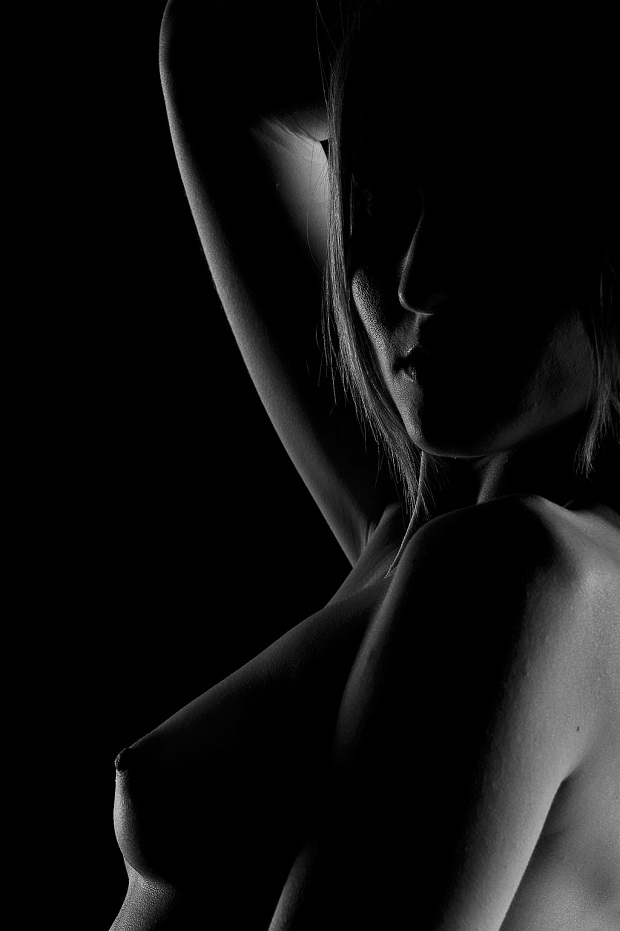 Female Nude in Low Key Lighting