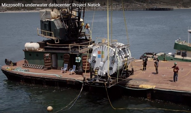 Project Natick Underwater Data Center