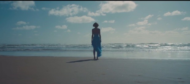 Taylor Swift on the Beach in New Zealand from the Making of