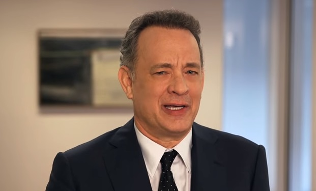 Tom Hanks announcing Hidden Heroes Veterans Caregivers Campaign