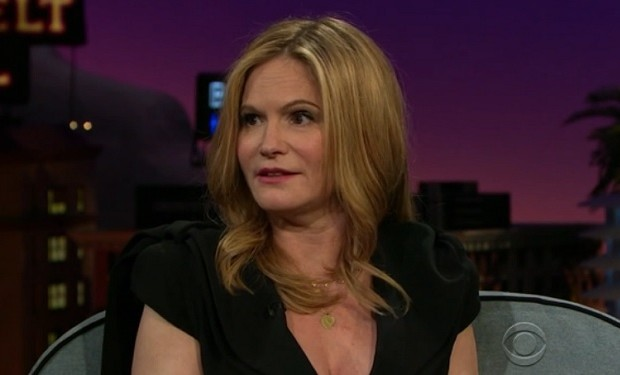 Jennifer Jason Leigh on The Late Late Show with James Corden  CBS