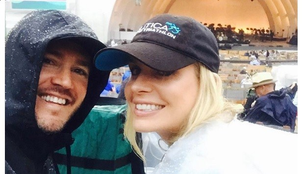 Mark-Paul Gosselaar and wife Catriona @mpgosselaar