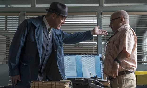 Still of James Spader and Clark Middleton in The Blacklist, photo: Michael Parmelee/NBC