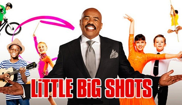Little Big Shots Steve Harvey Ellen DeGeneres
