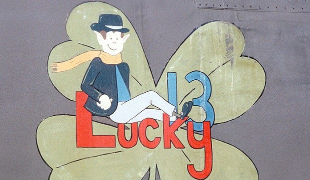 Lucky_13_Nose_Art