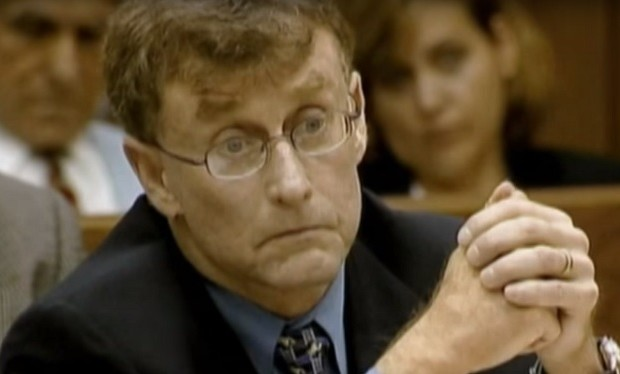Michael Peterson still from The Staircase