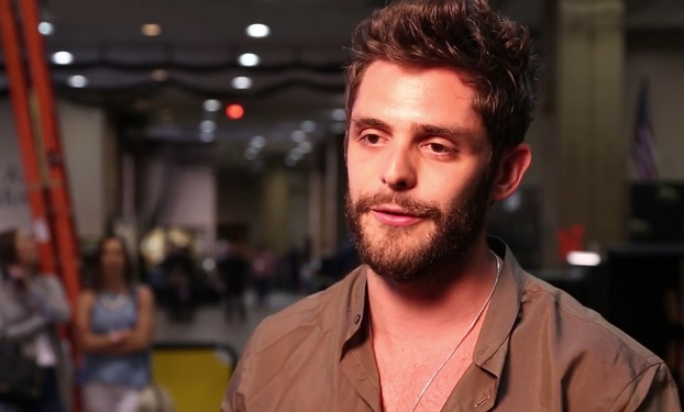 Thomas Rhett, ACM Awards Interview YouTube