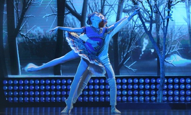 Ballet Avery and Joziah, Little Big Shots, Danny Feld/NBC