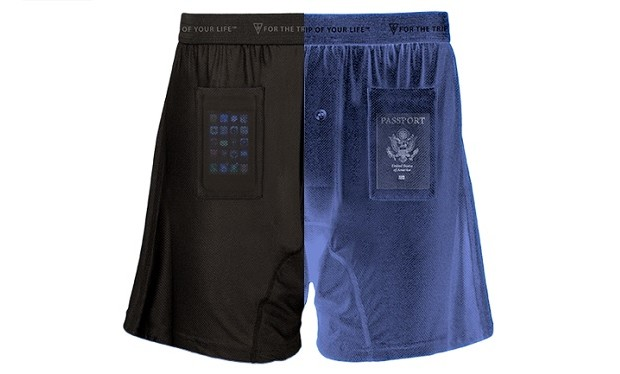 SCOTTeVEST boxer shorts