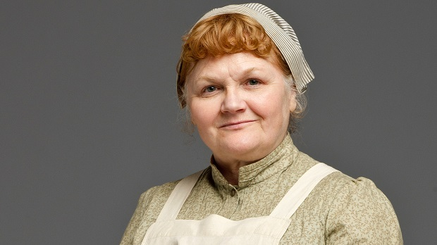 Lesley Nicols as Mrs Patmore PBS