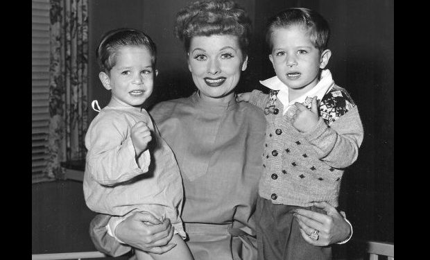 Lucille Ball with Little Rickys