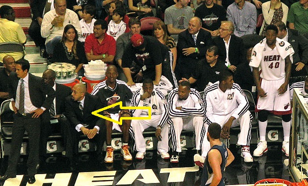 Miami_Heat_bench with David Fizdale