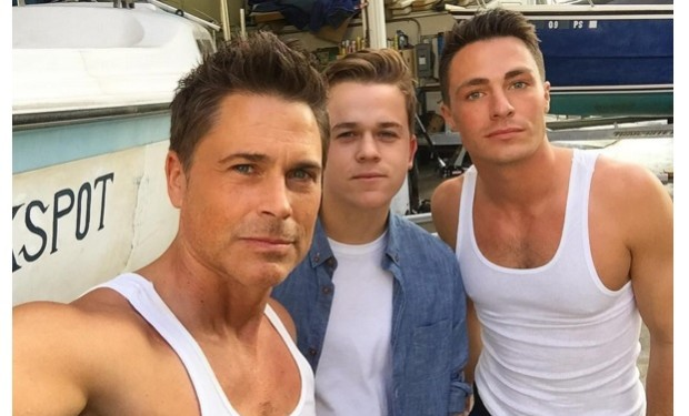Rob and Johnny Lowe Colton haynes