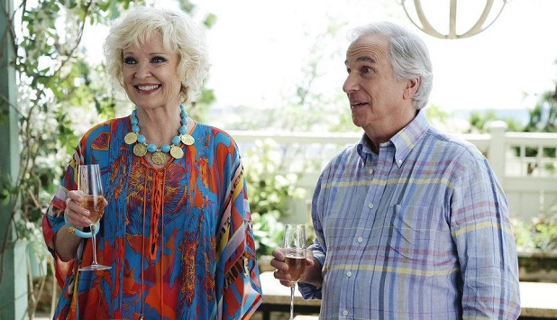 Christine Ebersole, Henry Winkler, Royal Pains, Giovanni Rufino/USA Network