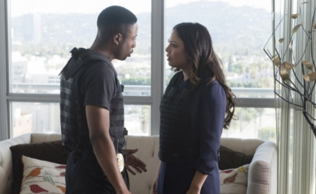 Rush Hour CBS, Justin Hires and Janel Parrish
