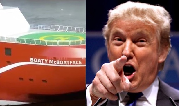 boaty mcboatface and Donald Trump