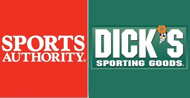 Sports Authority, Dicks logos
