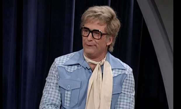 Alec Baldwin as Charles Nelson Reilly SNL NBC