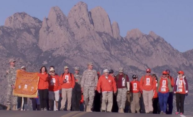 Ben Skardon takes on the Bataan Memorial Death March