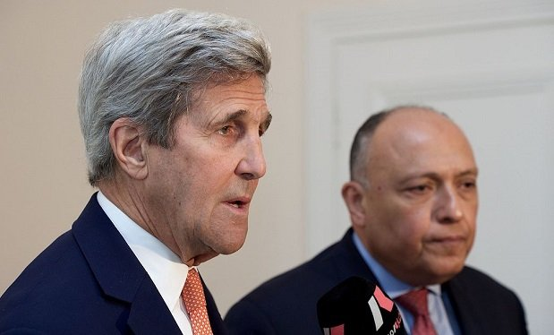 Sameh Shoukry, John Kerry
