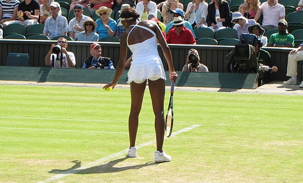 Venus Williams (photo by Tim Schofield (IMG_2717) [CC BY 2.0], via Wikimedia Commons)