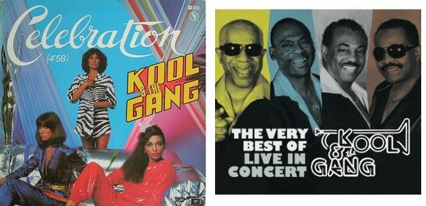 Kool and the Gang album covers