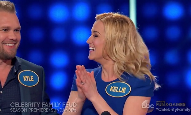 Kyle and Kellie Pickler Celebrity Family Feud ABC