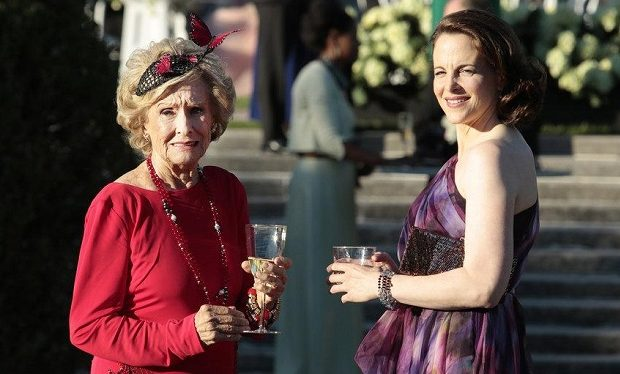 Cloris Leachman as Annette, Maria Dizzia as Cindy Green -- (Photo by: Giovanni Rufino/USA Network)