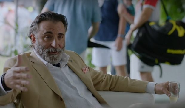 Andy Garcia Ballers HBO