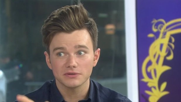 Chris Colfer Today Show