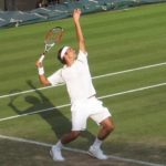 Federer at Wimbledon 2007