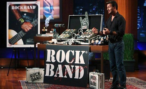 Shark Tank RockBands Lee Dahlberg