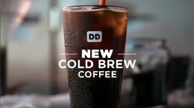Cold brew dunkin donuts