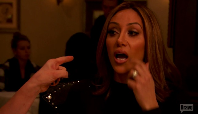 Jacqueline Points Finger In Melissa Gorga's Face on Real Housewives