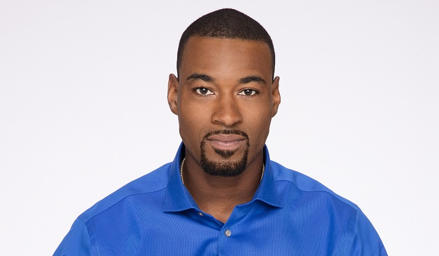 """DANCING WITH THE STARS - CALVIN JOHNSON - The stars grace the ballroom floor for the first time on live national television with their professional partners during the two-hour season premiere of """"Dancing with the Stars,"""" which airs MONDAY, SEPTEMBER 12 (8:00-10:01 p.m., ET) on the ABC Television Network. (ABC/Craig Sjodin)"""
