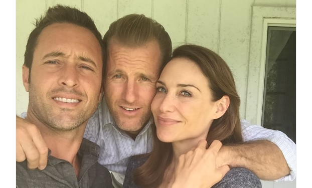 Alex O'Loughlin, Scott Caan, Claire Forlani, Twitter