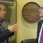 Jim Koch with Sec. of Labor Tom Perez