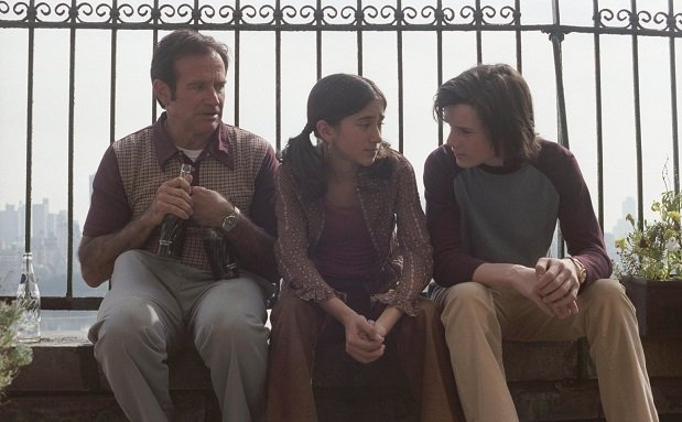 Robin Williams, Zelda Williams, Anton Yelchin in 'House of D', 2004 Lions Gate Home Entertainment
