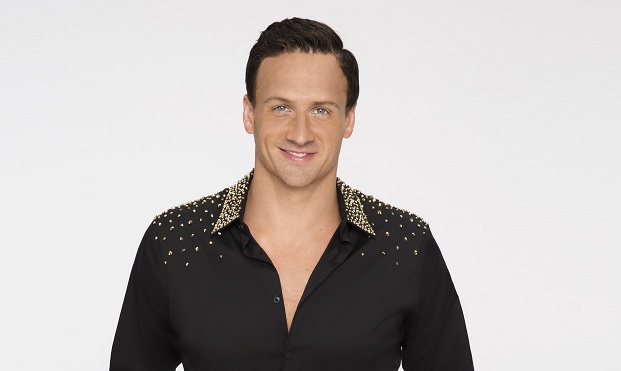 "DANCING WITH THE STARS - RYAN LOCHTE - The stars grace the ballroom floor for the first time on live national television with their professional partners during the two-hour season premiere of ""Dancing with the Stars,"" which airs MONDAY, SEPTEMBER 12 (8:00-10:01 p.m., ET) on the ABC Television Network. (ABC/Craig Sjodin)"